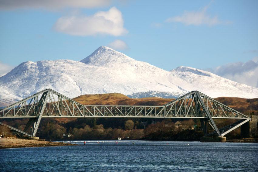 Connel Bridge And Ben Cruachan