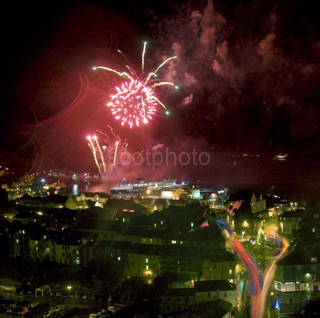 Oban Fireworks Display November 2011