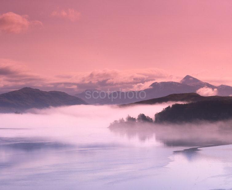 Misty View Of Ben Cruachan Loch Etive