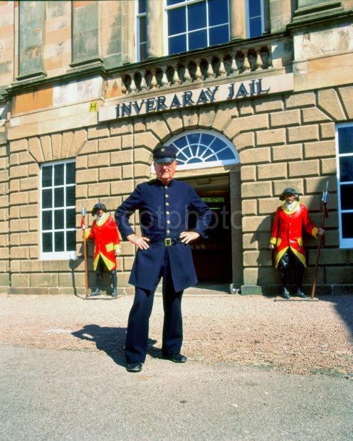 Inveraray Jail With Head Jail Keeper Invereray Loch Fyne