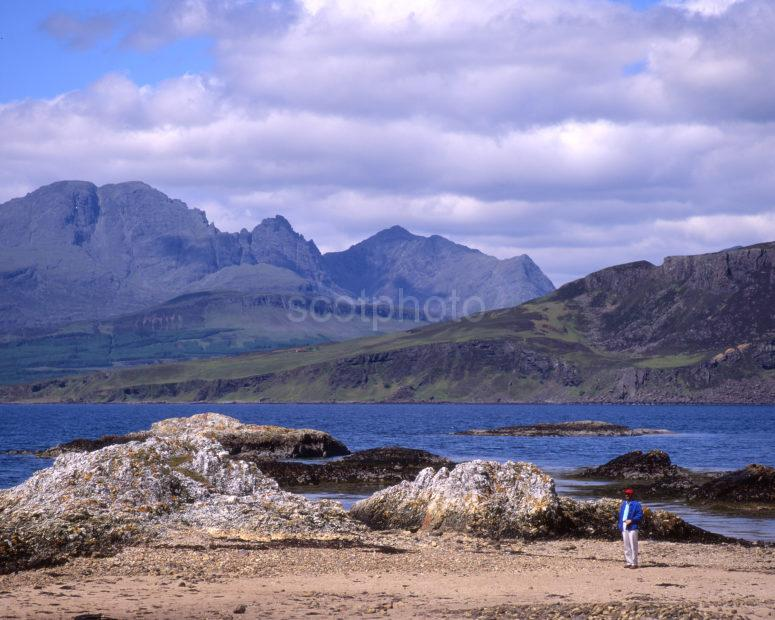 Cuillins From Sleat