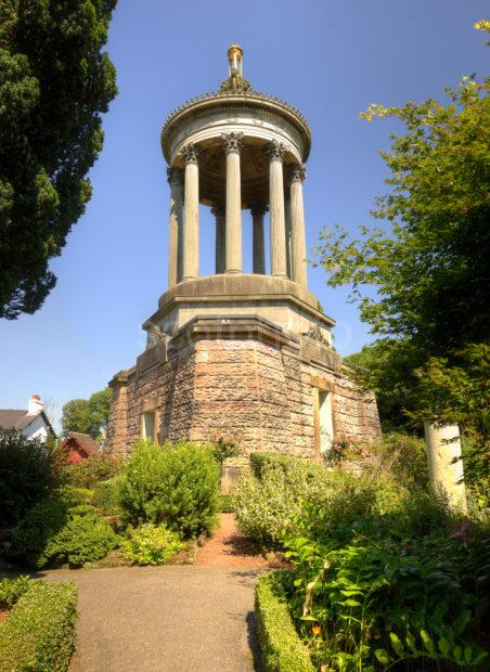 BURNS MEMORIAL TOWER ALLOWAY AYRSHIRE