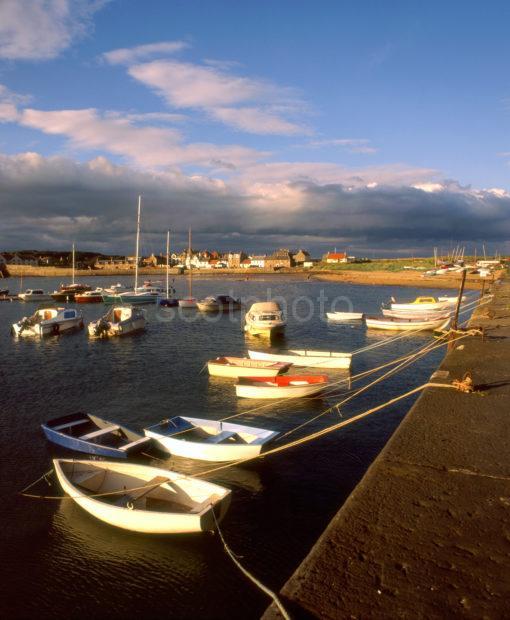 Elie Evening Light From The Pier Fife