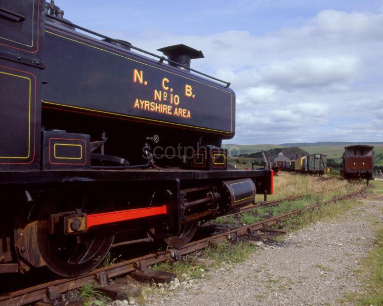 Scottish Railways Museum Dalmellington Ayrshire