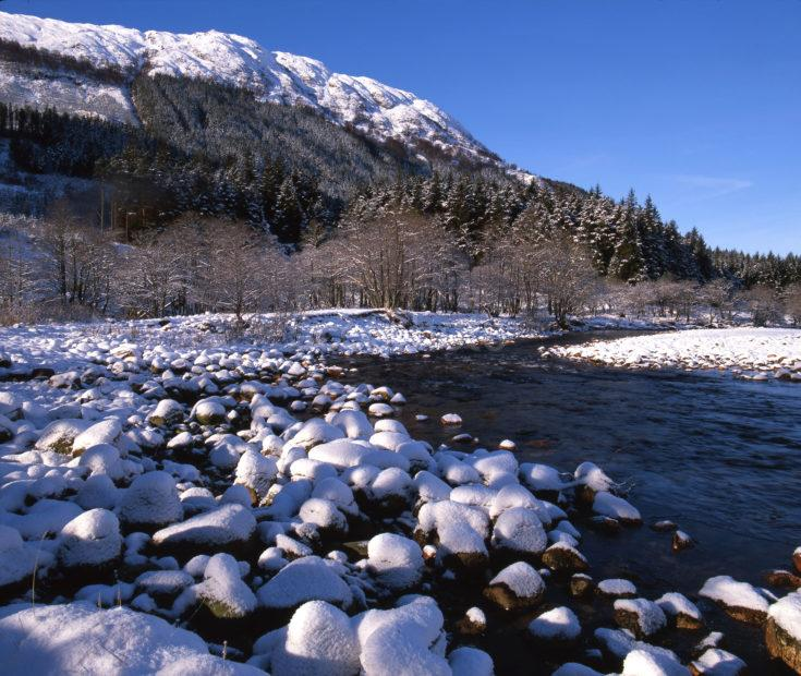 WINTER IN GLEN NEVIS