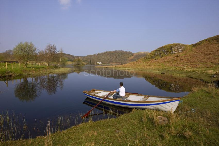 I5D1204 Peaceful Morning On Loch Nell