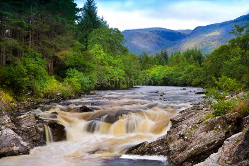 WATERFALLS GLEN ORCHY