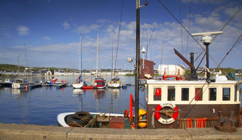Port Ellen Harbour Islay