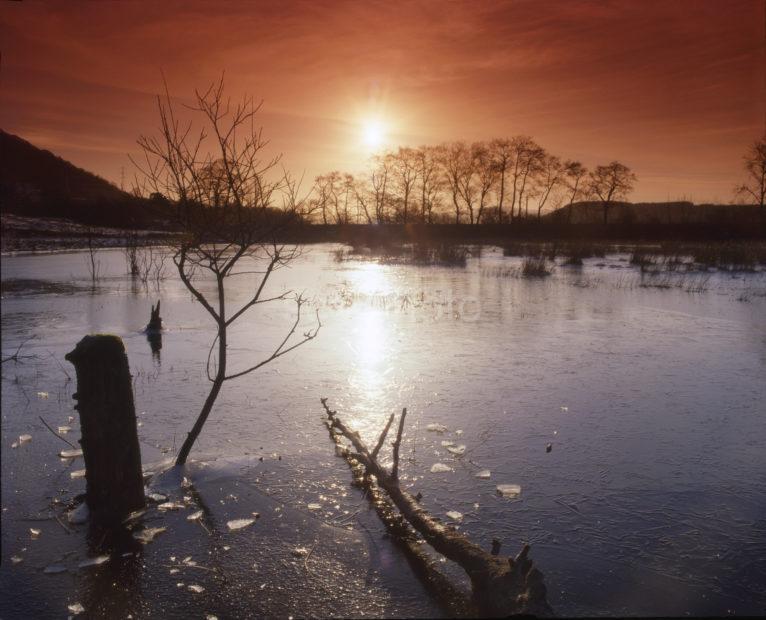 Loch Awe Winter Sunset