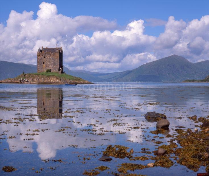 Summer View Of Castle Stalker