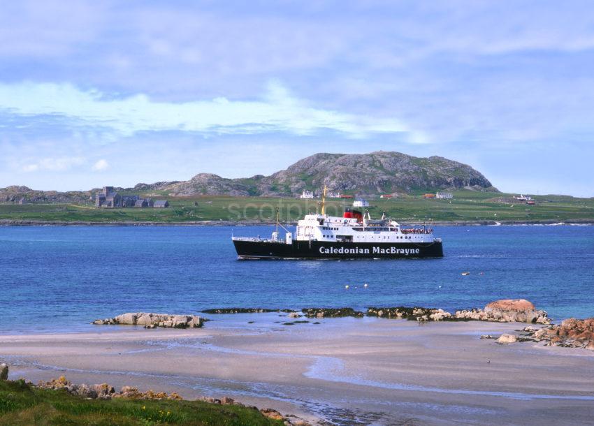 MV Columba Off The Island Of Iona Argyll