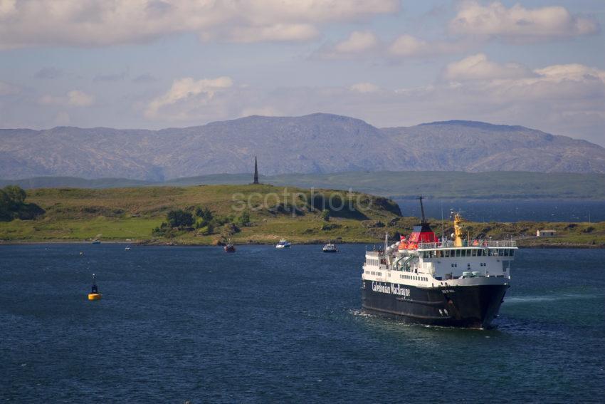 MV Isle Of Mull In Oban Bay