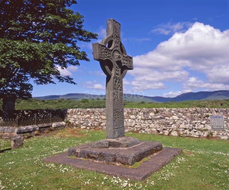 The Kildalton Cross Nr Ardmore Point South Coast Of Islay