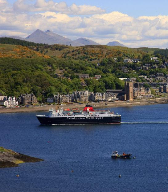 MV ISLE OF MULL WITH OBAN AND CRUACHAN