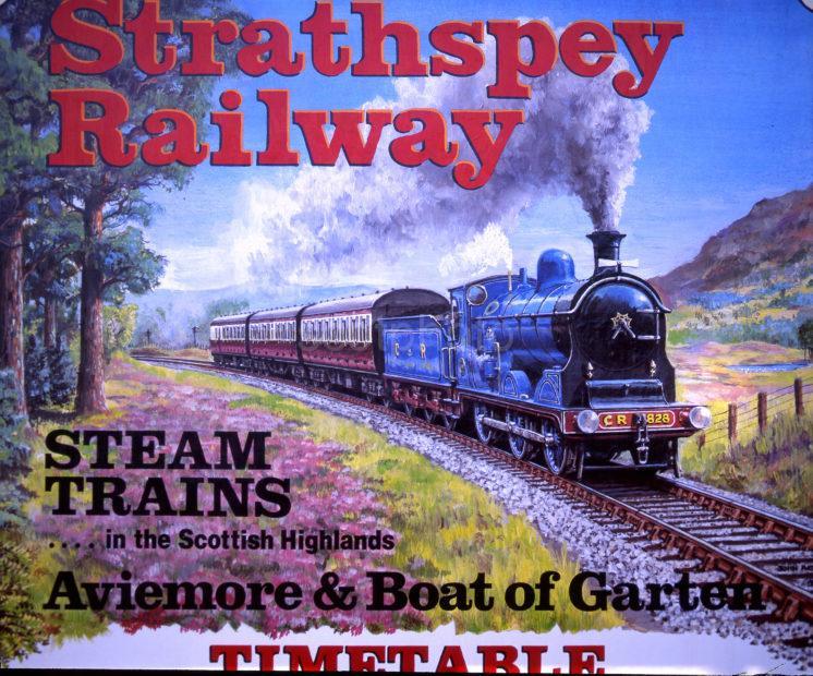Poster Strathspey Railway