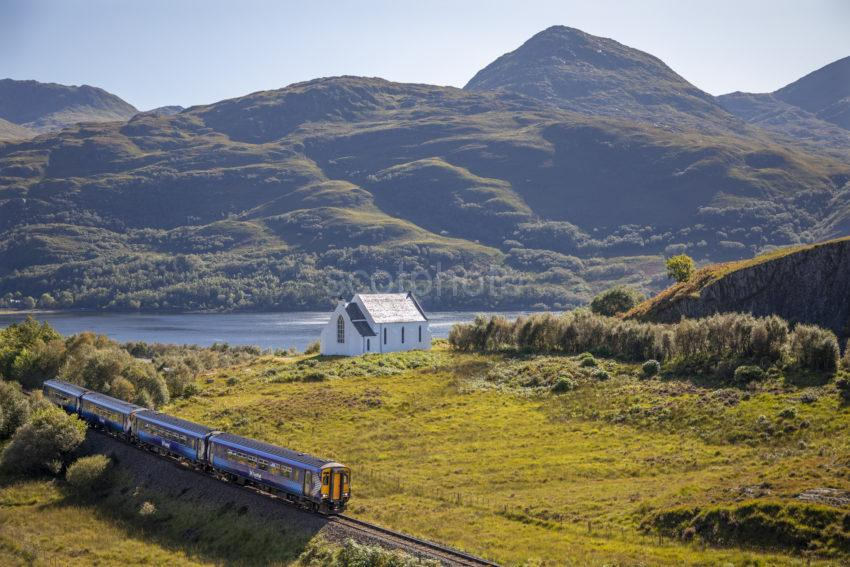3ac380d2 198a9838 Scotrail 156 Passing Lochailort Church On The Mallaig Line Sept 2019