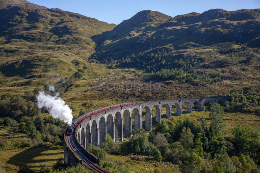 C306bb2c 1z6e9983 Steam Train At Glenfinnan 2019