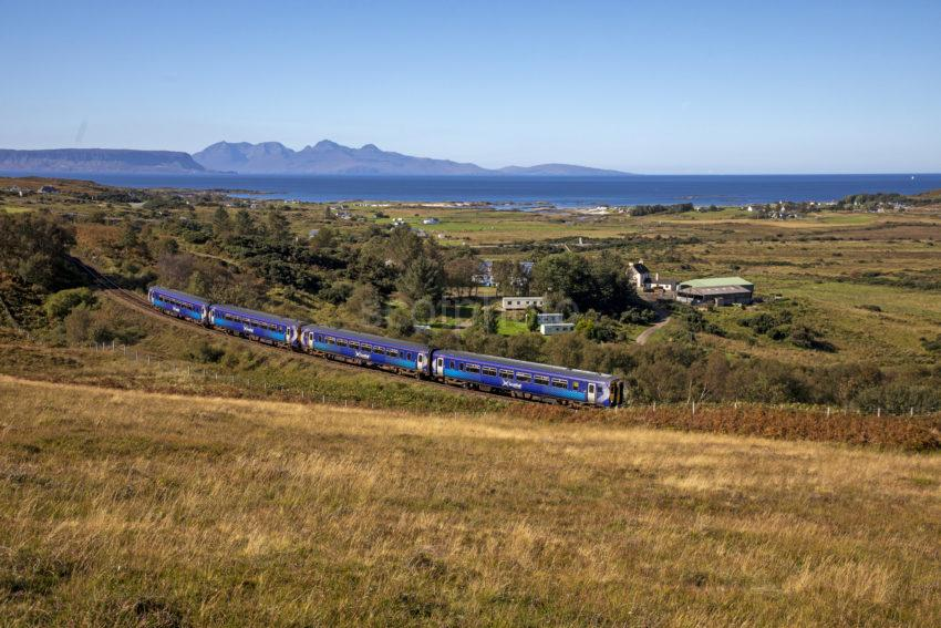 54000d57 198a9753 156 Sprinter Heading For Mallaig After Leaving Arisaig 2019