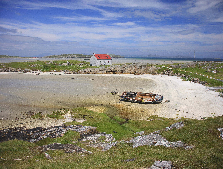 I5D0014 Sands At Crannog Traigh Mhor Isle Of Barra