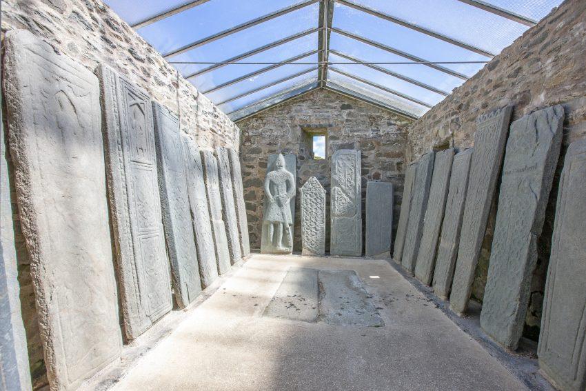 1Z6E1951 Medieval Stone Slabs Kilmartin