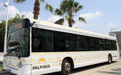 Nouvelle offre de transport PALM BUS à Mougins-le-Haut !