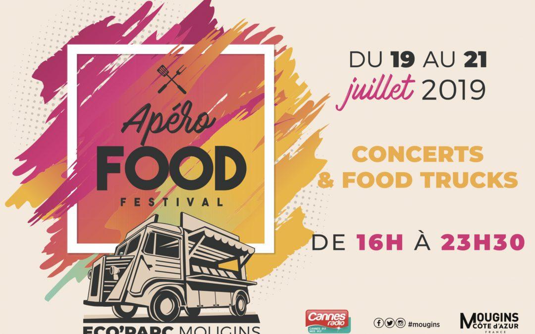 Mougins en mode «Apéro Food Festival» les 19-20-21 juillet !