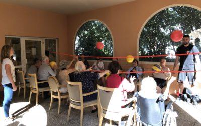 Seniors : le volley santé se joue à Korian Riviera