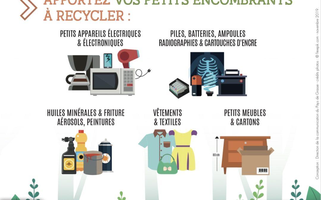 Recyclage : le relais tri mobile fait halte à Mougins