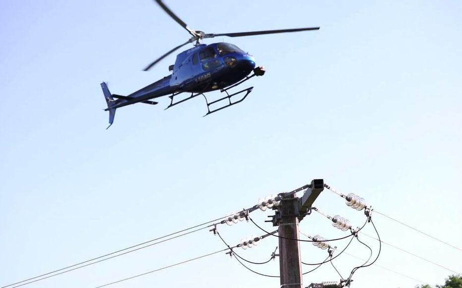 Survols à très basse altitude : Enedis vérifie les lignes électriques à Mougins