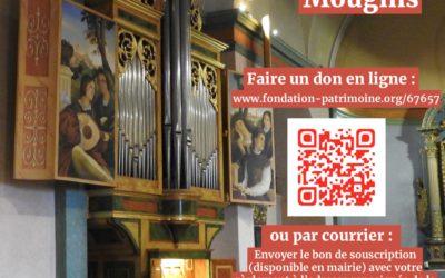 Appel aux dons pour la restauration de l'orgue de l'église Saint-Jacques le Majeur