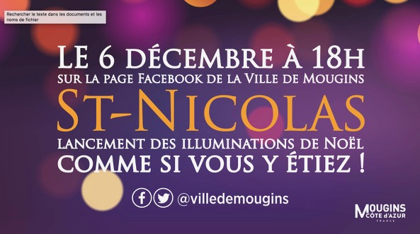 Suivez la Saint-Nicolas sur vos écrans