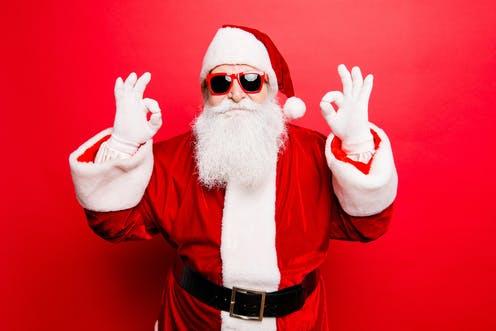 Le Père Noël est en balade à Mougins en ce mois de décembre!