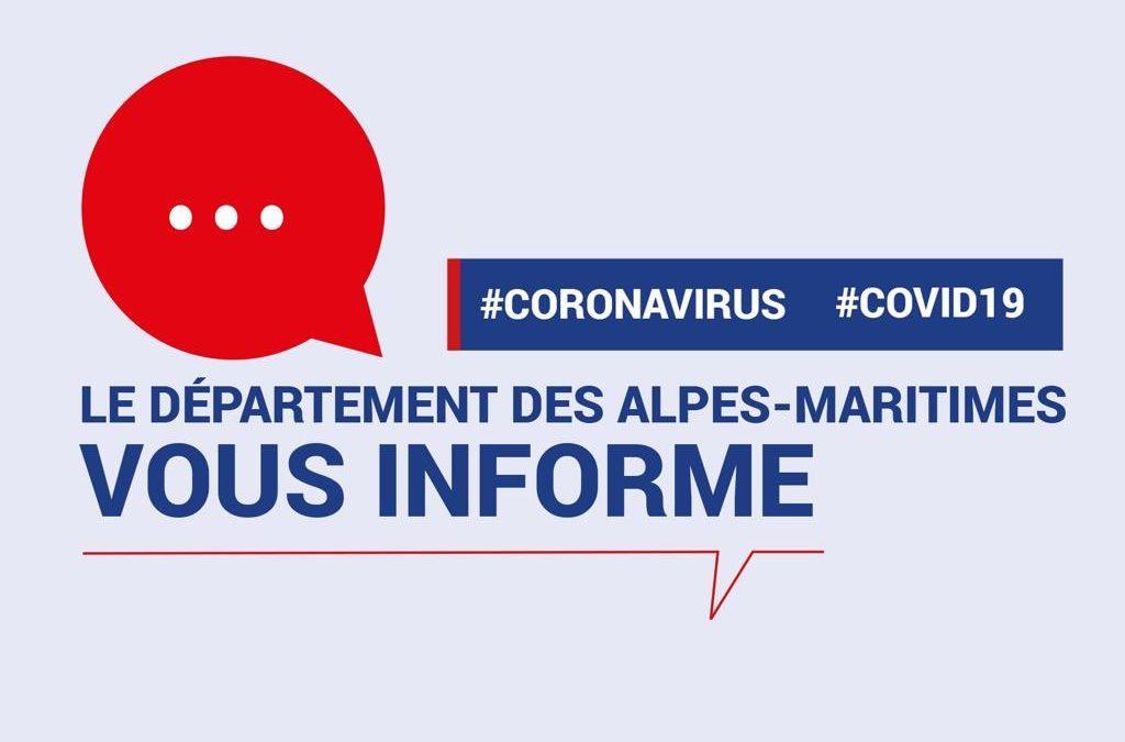 Crise COVID-19 : les restrictions dans les Alpes-Maritimes
