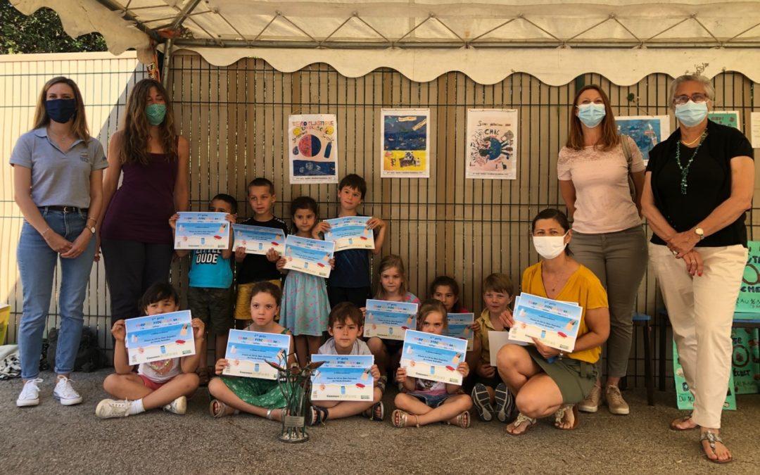 La maternelle Rebuffellauréate de «l'écol'o défi»