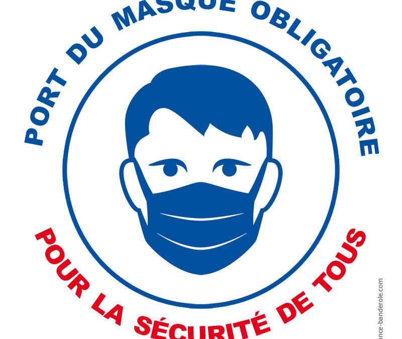 Covid : mesures préfectorales relatives au port du masque