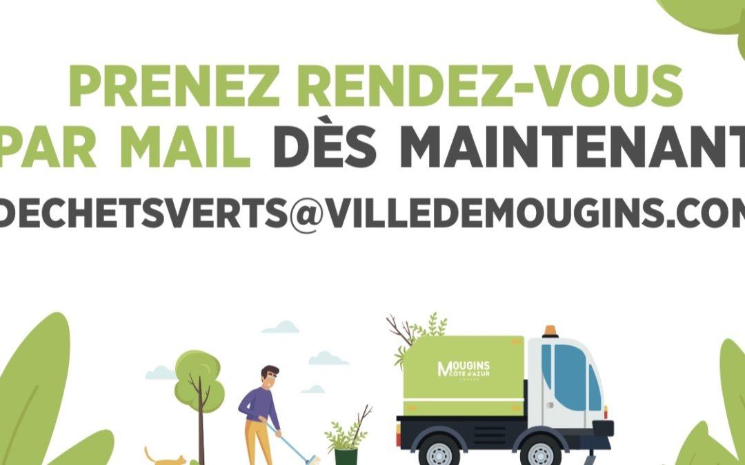 La collecte des déchets verts à domicile reprend le 4 octobre
