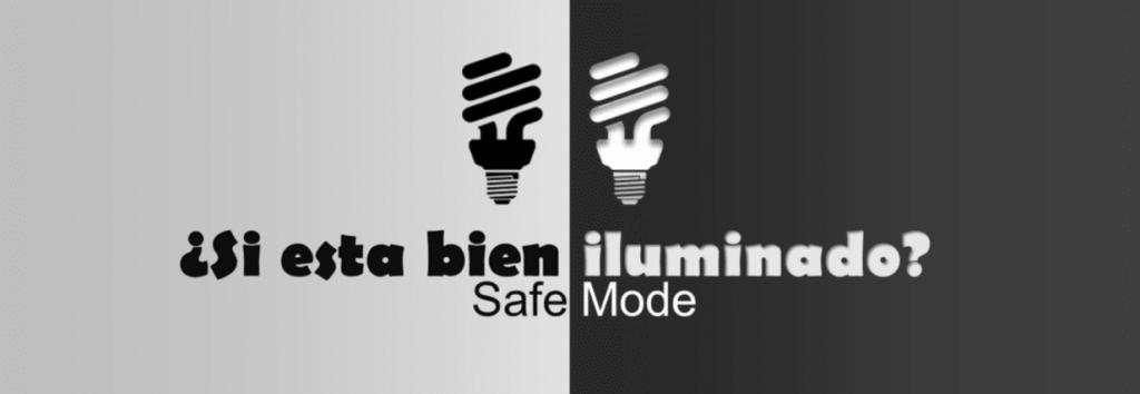 iluminación de puestos de trabajo