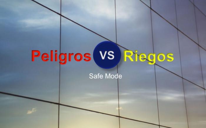Diferencia entre peligro y riesgo