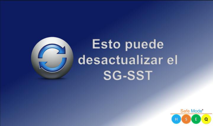 asi se desactualiza el SG-SST