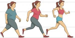 Actividad física reduce peso