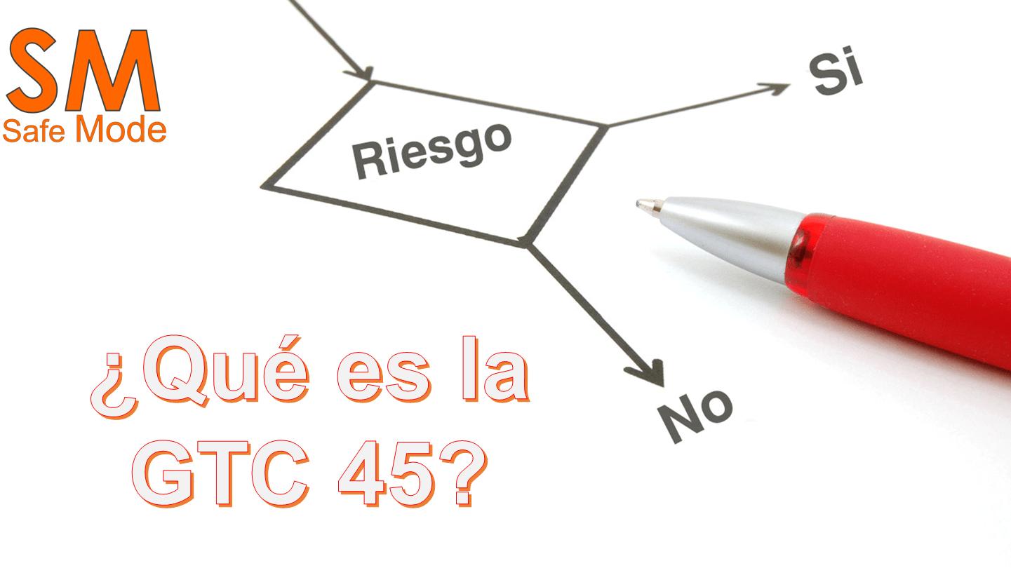 Matriz de riesgos con GTC 45