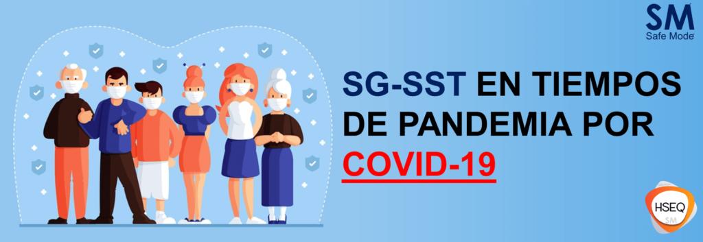 cmabios en el SG-SST por COVID-19