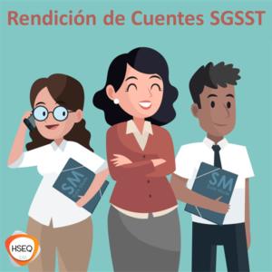 rendición de cuentas SST
