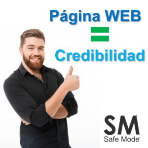 pagina web causa confianza