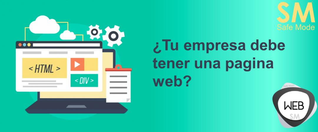pagina web en tu empresa