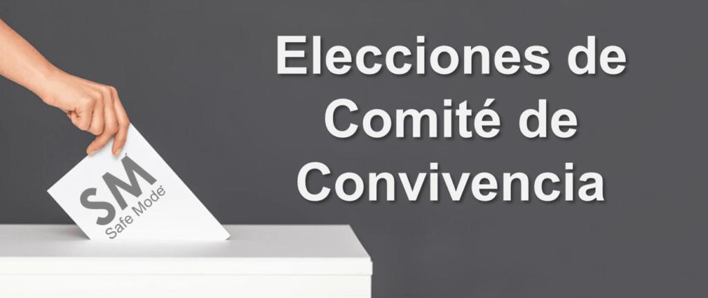 elecciones y votación comité de convivencia
