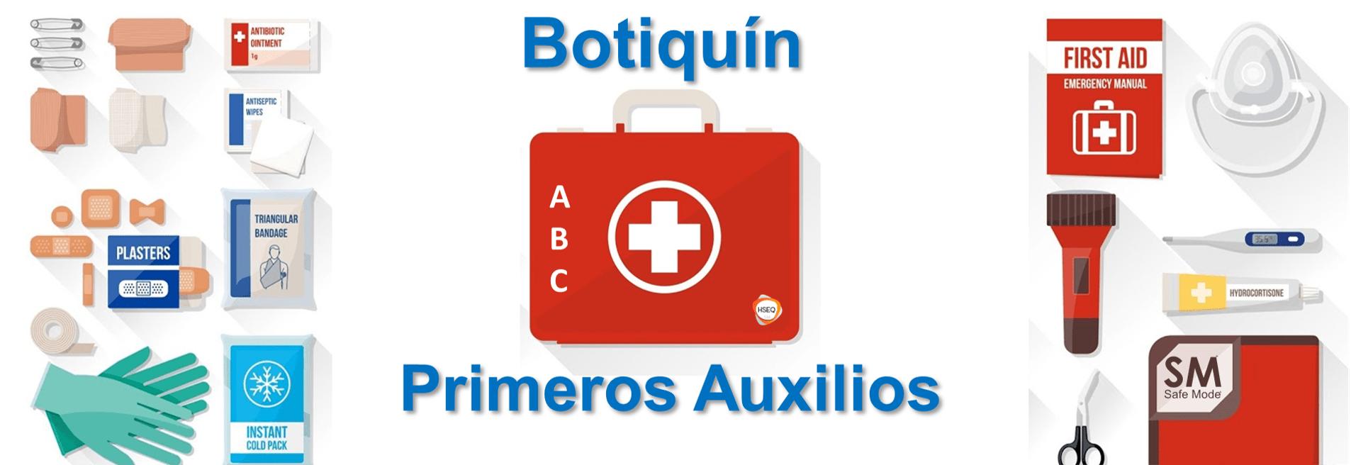 Todo sobre Botiquín de primeros auxilios
