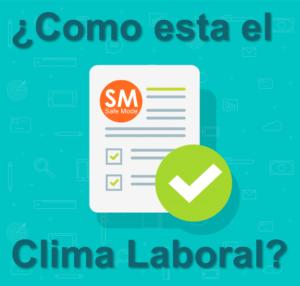 Encuesta para evaluar el clima laboral
