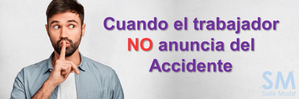 Los trabajadores no reportan los accidentes