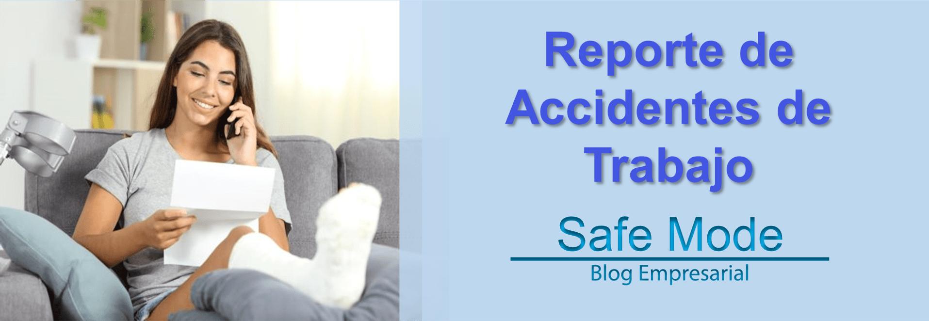 Reporte de AT o Accidentes de trabajo